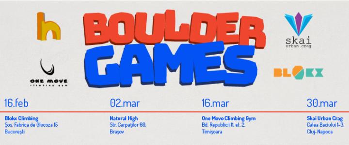 Boulder Games 2019