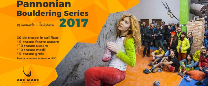 Pannonian Bouldering Series 2017 – 5th edition