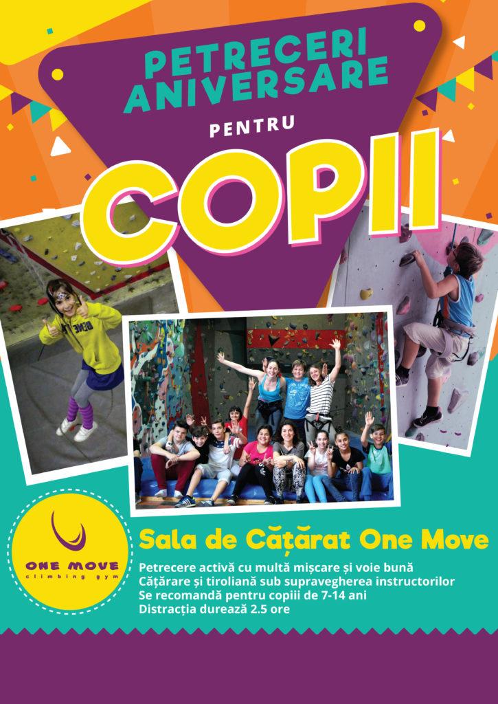 Petrecere One Move pentru copii