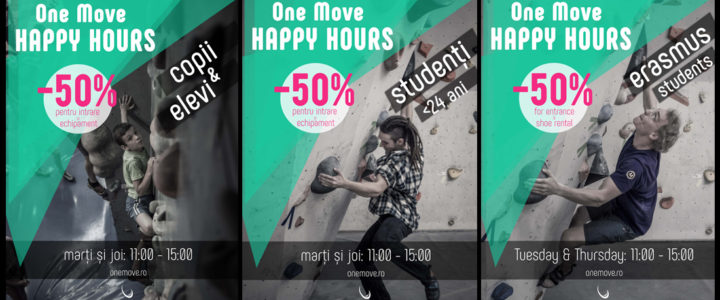 One Move Happy Hours