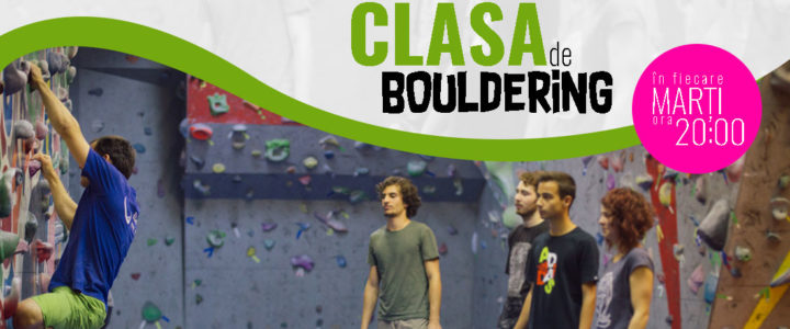 Clasa de bouldering
