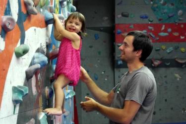 Primul antrenament cu nepotica